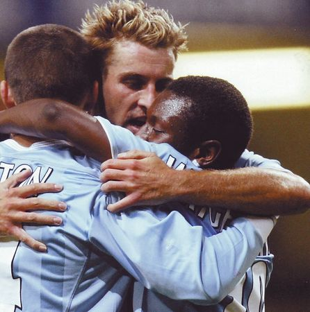 tns away 2003 to 04 huckerby goal celeb