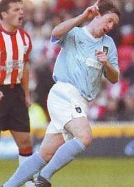 Southampton away 2003 to 04 fowler goal celeb