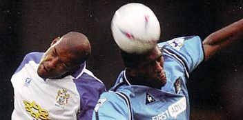 bury friendly 2002 to 03 action