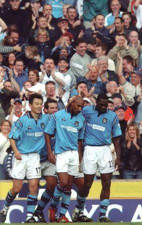 everton home 2002 to 03 goal celeb 2