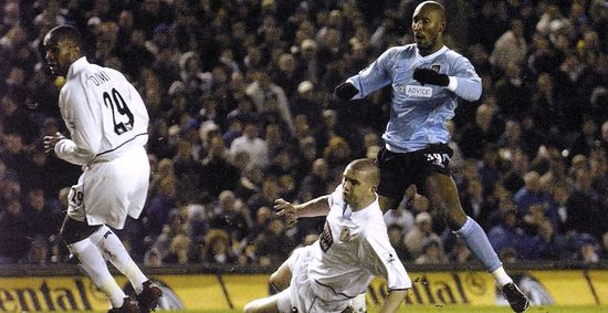leeds away 2003 to 04 anelka goal
