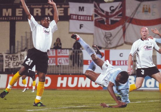 lokeren away 2003 to 04 wanchope penalty foul