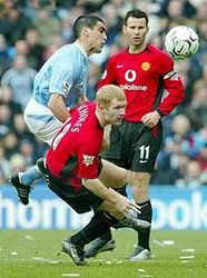 man utd home 2003 to 04 action