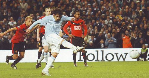 man utd home league cup semi 2009 to 10 1st tevez goal