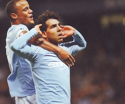 man utd home league cup semi 2009 to 10 2nd tevez goal4