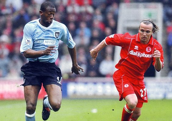 middlesbrough away 2003 to 04 aCTION