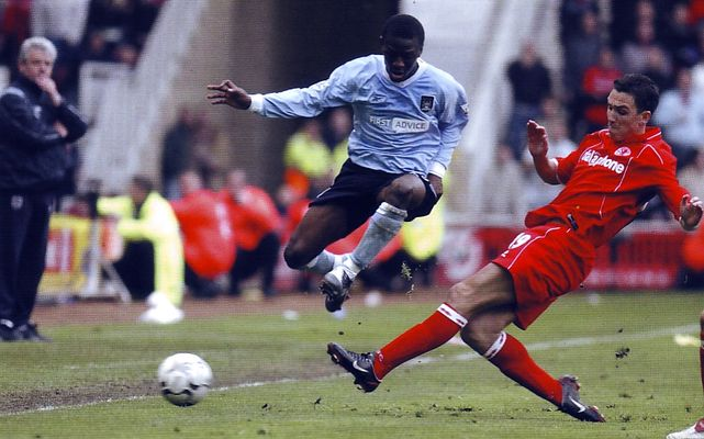 middlesbrough away 2003 to 04 aCTION2