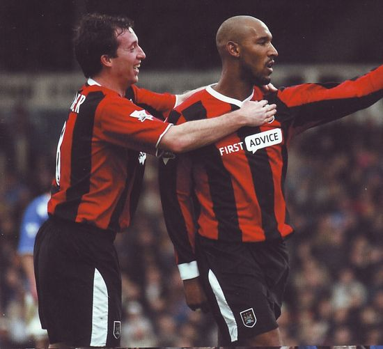 portsmouth away 2003 to 04 anelka goal
