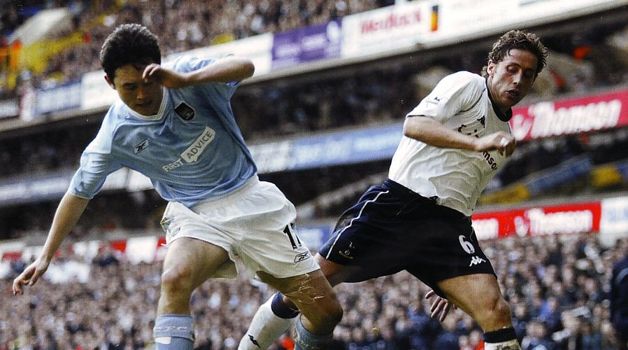 tottenham away 2003 to 04 action