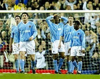 tottenham away FA Cup 2003 to 04 3-0 down