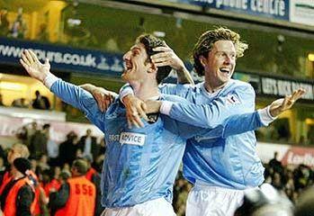 tottenham away FA Cup 2003 to 04 macken goal3