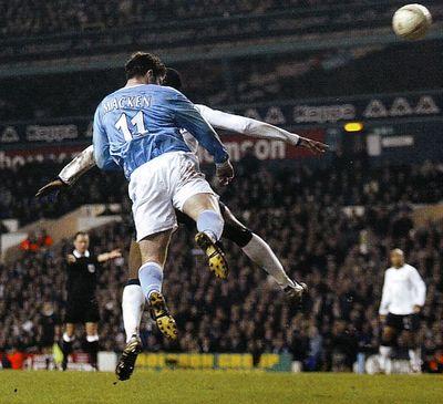 tottenham away FA Cup 2003 to 04 macken goal4