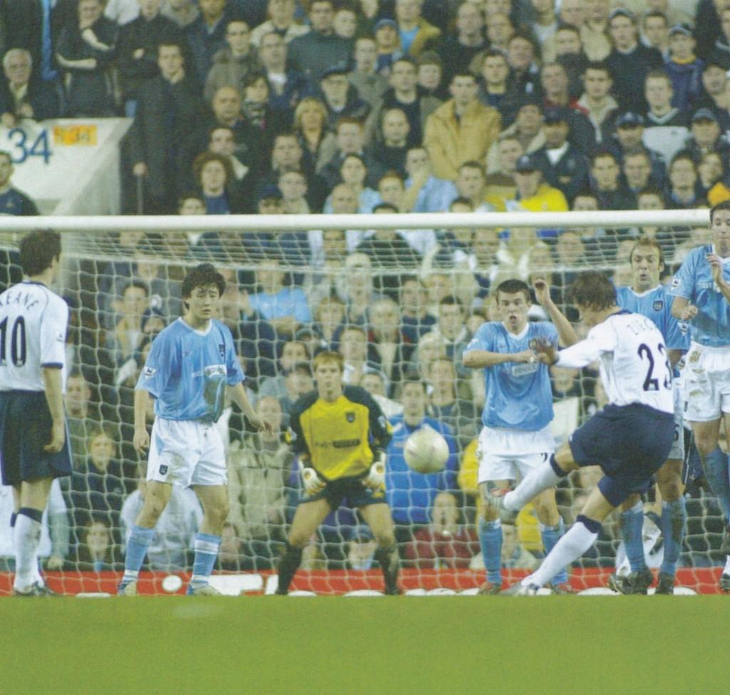 tottenham away fa cup replay 2003 to 04 ziege goal