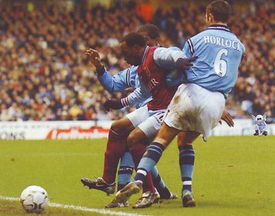 Aston villa home 2002 to 03 action
