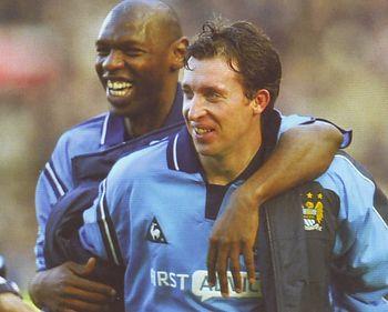 Man U away 2002 to 03 Goat goal celeb2