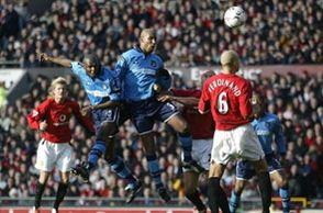 Man U away 2002 to 03 Goat goal2