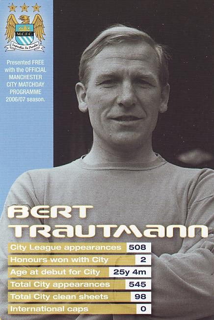 bert trautmann card