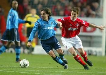 charlton away 2002 to 03 action3