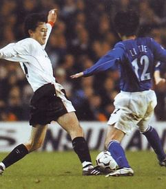 everton away 2002 to 03 action 2