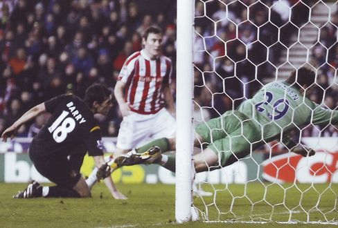stoke away 2009 to 10 barry goal