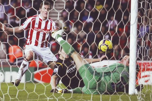 stoke away 2009 to 10 barry goal2