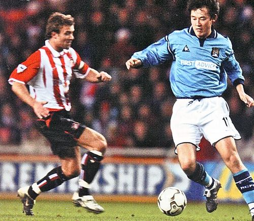 sunderland away 2002 to 03 action