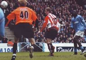 sunderland home 2002 to 03 2nd foe goal