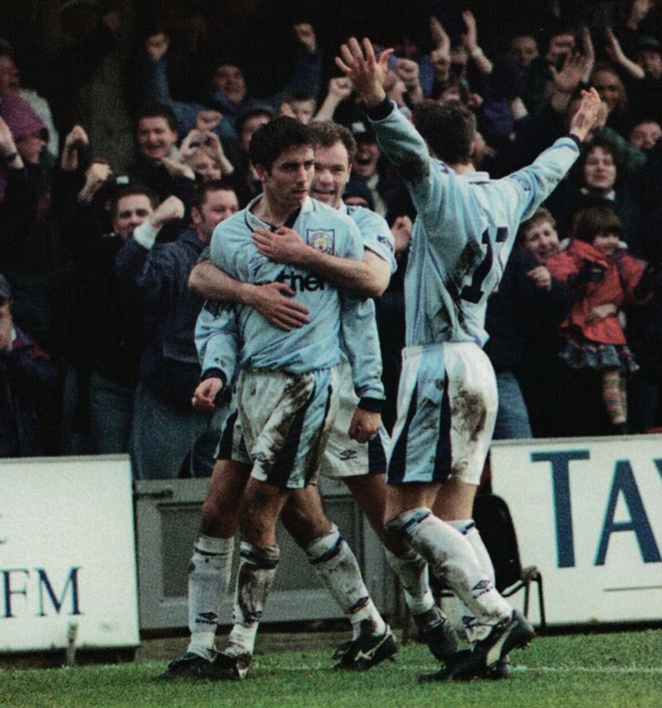 bradford away 1996 to 97 horlock goal6