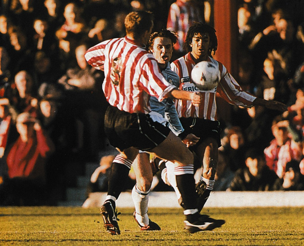 brentford fa cup 1996 to 97 action67