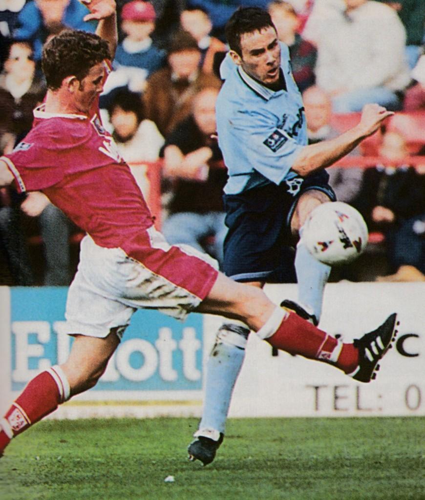 charlton away 1996 to 97 action6