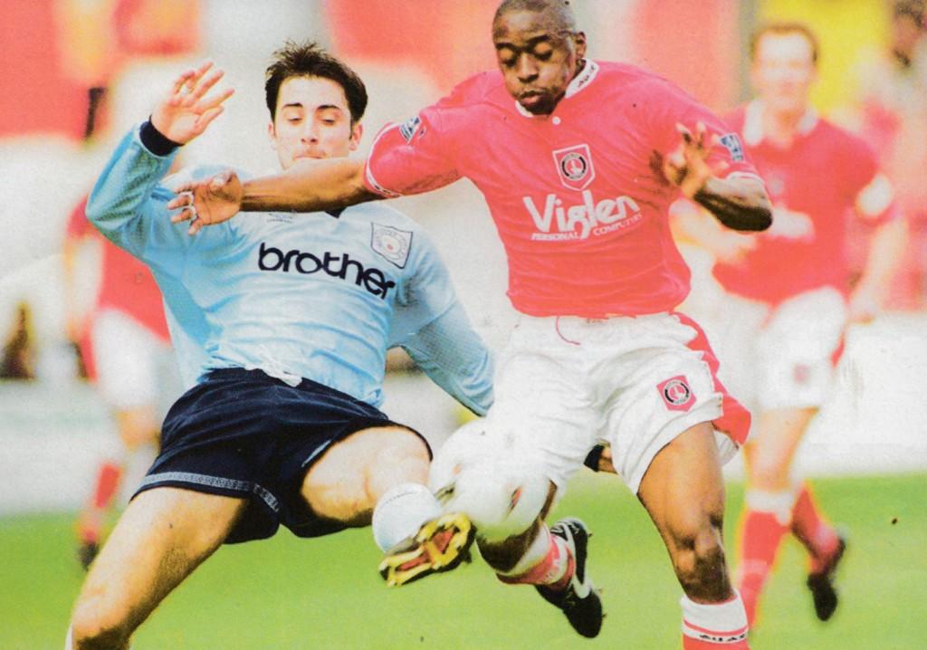 charlton away 1996 to 97 action7