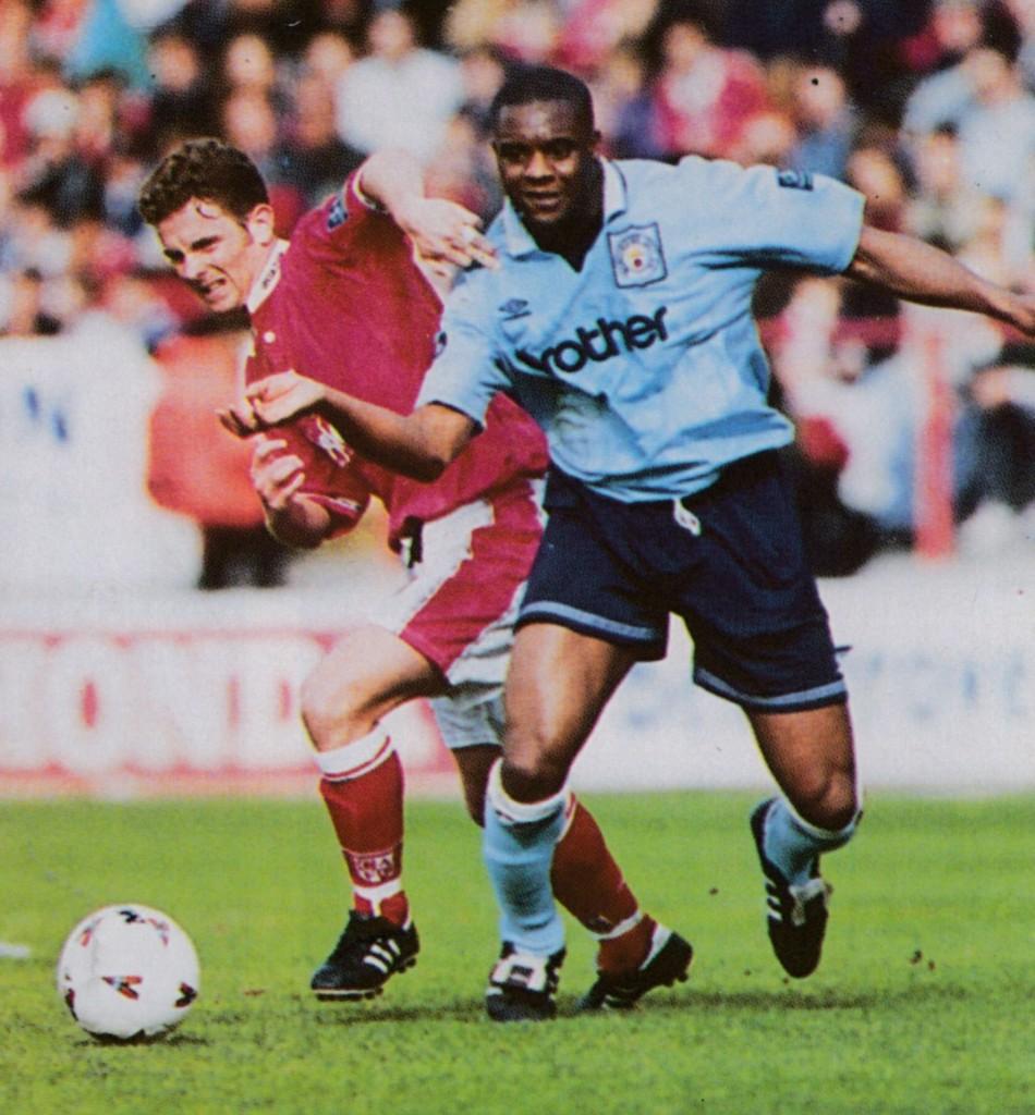 charlton away 1996 to 97 action8