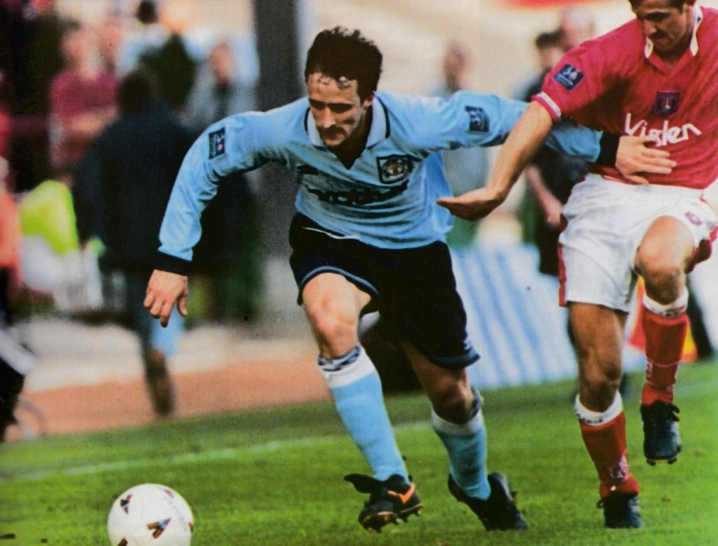 charlton away 1996 to 97 action9