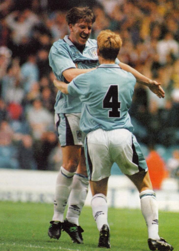 charlton home 1996 to 97 creaney goal7