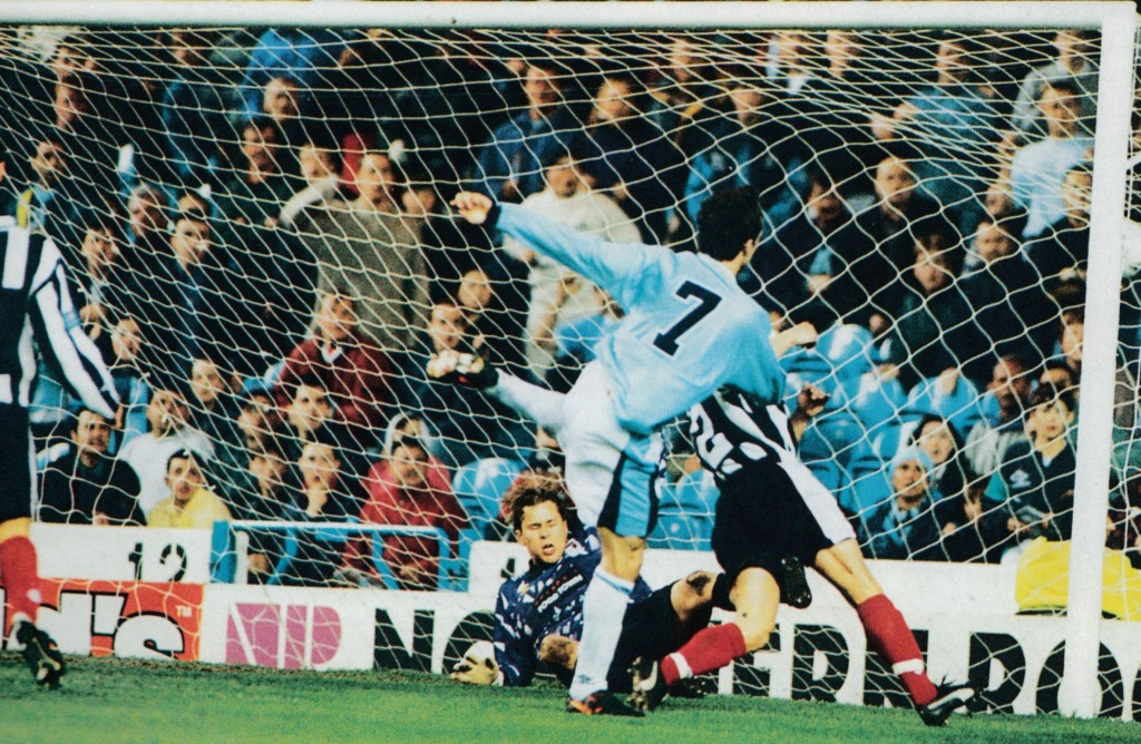 grimsby home 1996 to 97 summerbee 1st goal 5