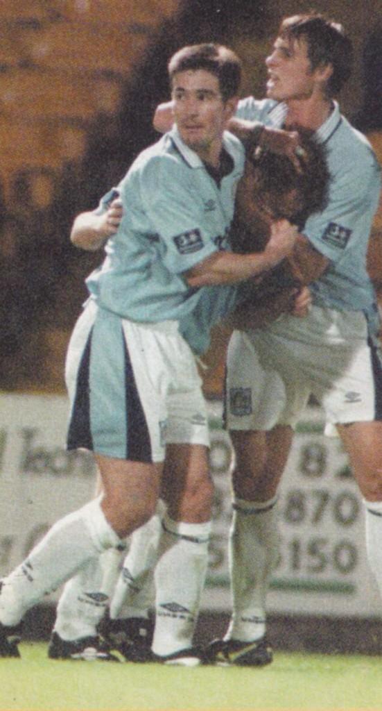 port vale away 1996 to 97 dickov goal