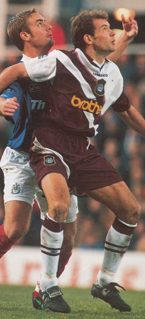portsmouth away 1996 to 97 action5