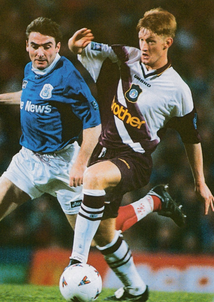 portsmouth away 1996 to 97 action6