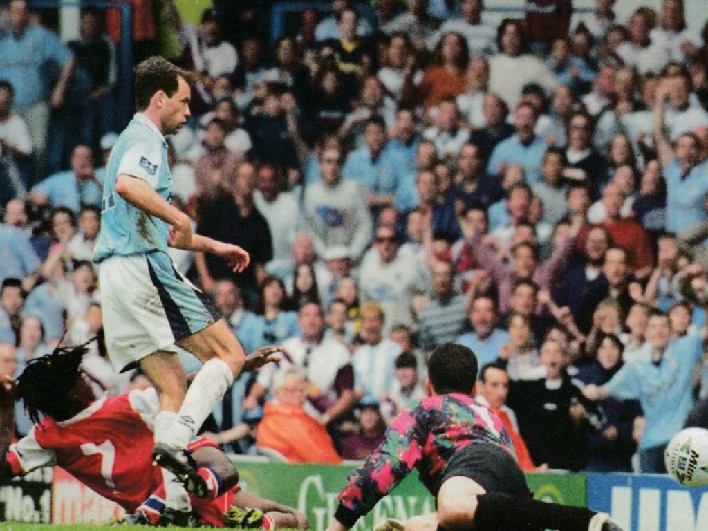 reading home 1996 to 97 rosler goal 2-2