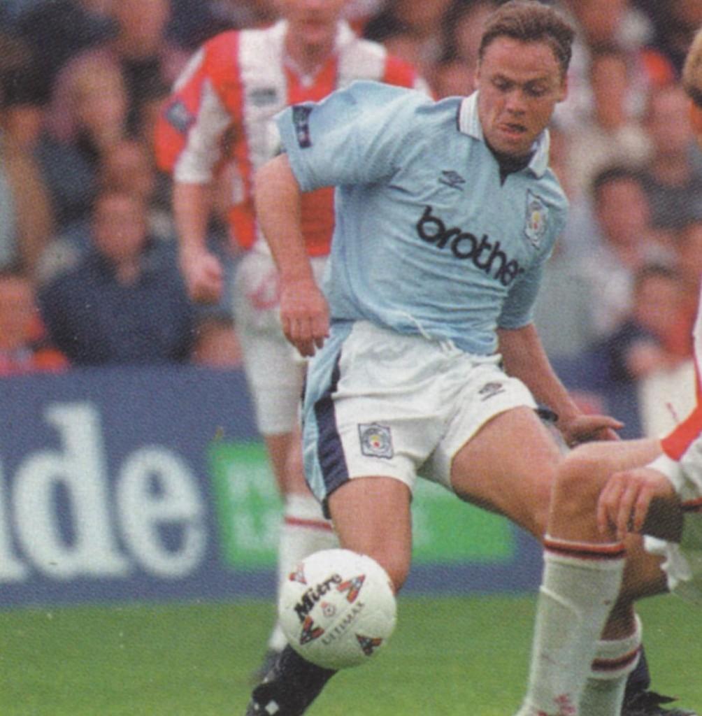 stoke away 1996 to 97 dickov debut