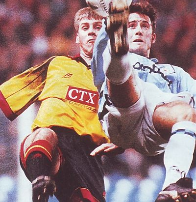 watford home fa cup 1996 to 97 action