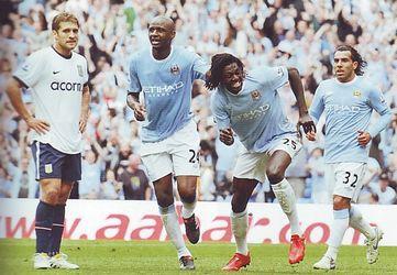 aston villa home 2009 to 10 adebayor goal