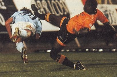 barnet away 1994 to 95 action