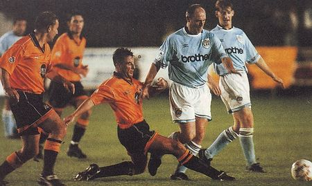 barnet away 1994 to 95 action2