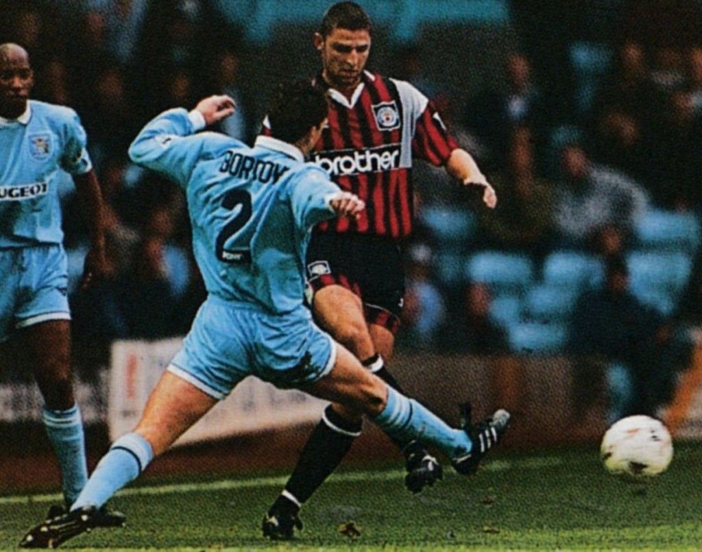 coventry away 1994 to 95 action6