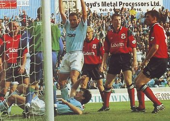 notts forest home 1994 to 95 quinn 2nd goal