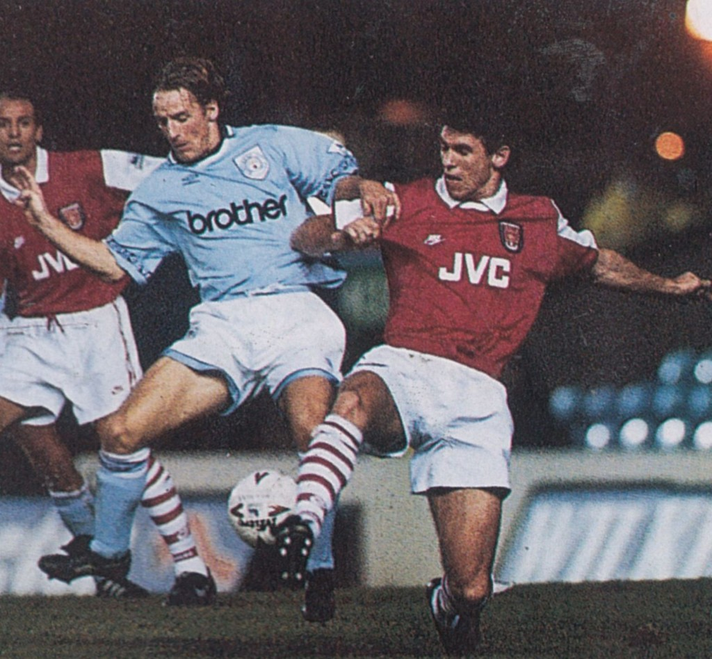 arsenal home 1994 to 95 action9