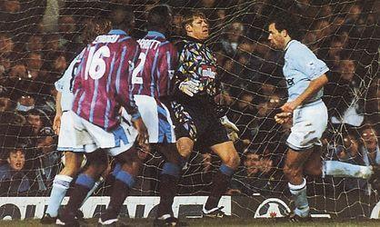 aston villa home 1994 to 95 2nd rosler goal