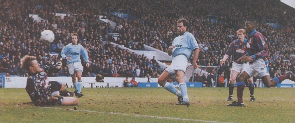 aston villa home 1994 to 95 rosler goal 2