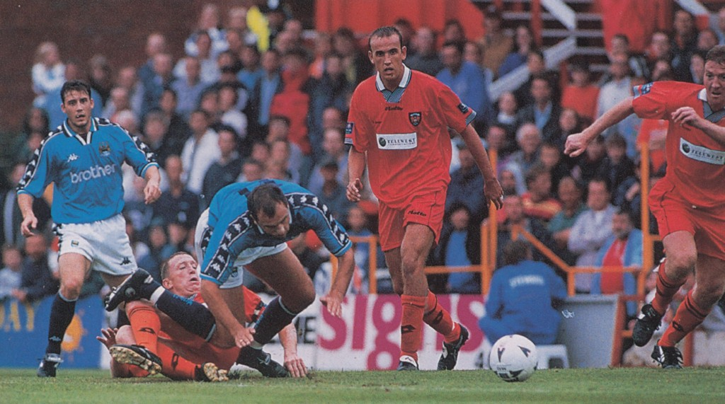 blackpool friendly 1997 to 98 action8